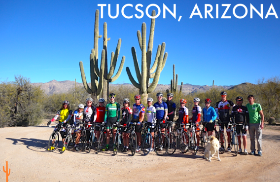 TUCSON, AZ winter cycling trip