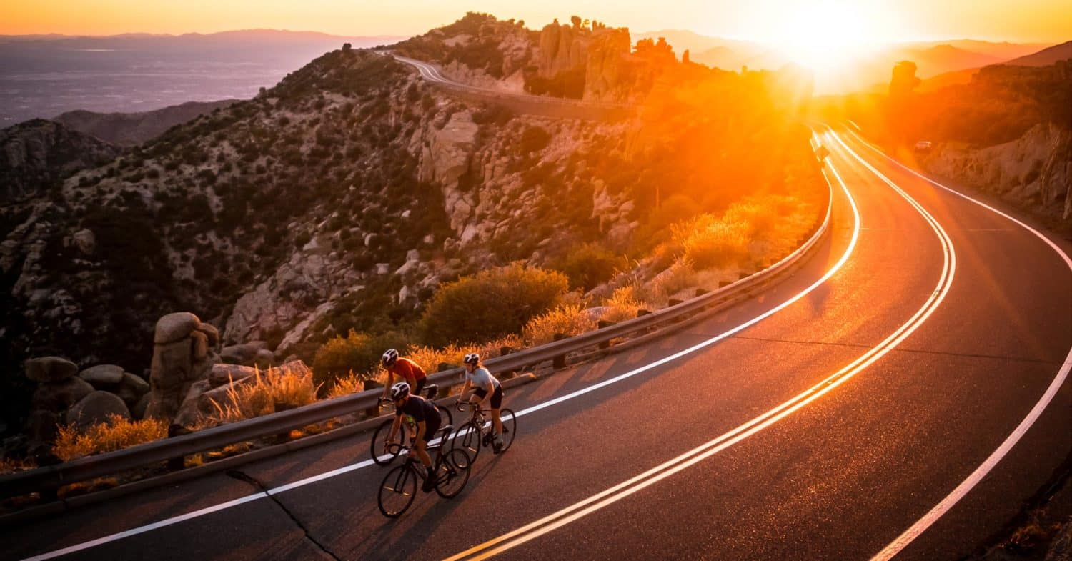 Winter cycling destination - Tucson Arizona cycling camp